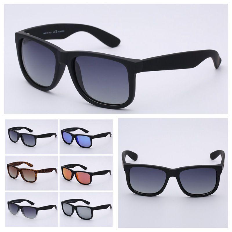 Top qualidade 4165 marca óculos de sol modelo justin para a mulher homem polarizado UV400 lentes com o original caixas, embalagens, acessórios, tudo!