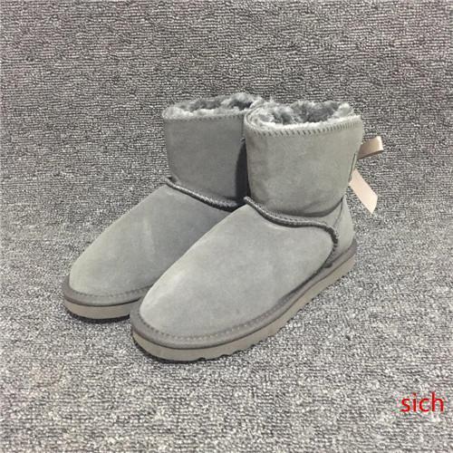 tasarımcı çizmeler kadın kar botları Avustralya tarzı su geçirmez Inek süet deri kış Lady açık çizmeler marka Ivg