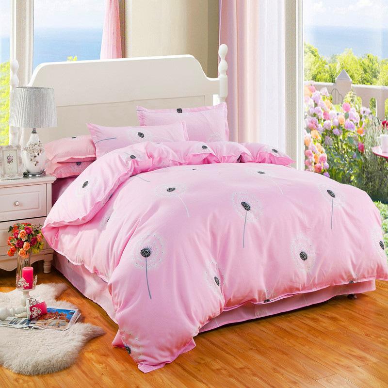 Home Textile Soft Quilt Duvet Quilt Cover Bedding Set Stripe Pillow Case Sheet Single Double Adult Bed Linens Suit Super King