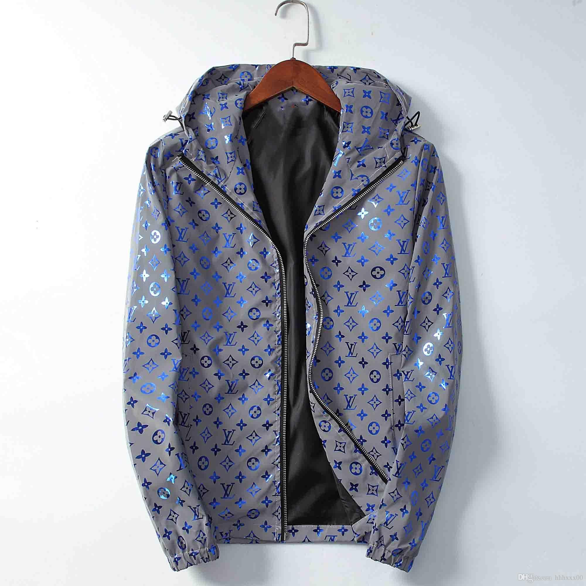20ss marka erkekler lüks kış Bombacı ceket uçuş pilotu Ceket rüzgarlık boy dış giyim gündelik Coats erkek giyim üstleri artı size3XL