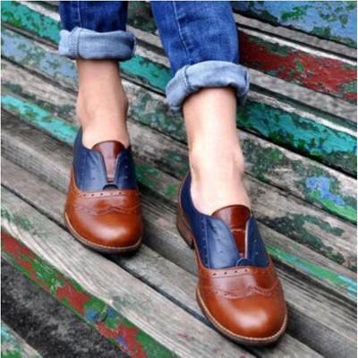 scarpe basse donne scarpe di moda di New pelle per autunno più dimensioni DB073