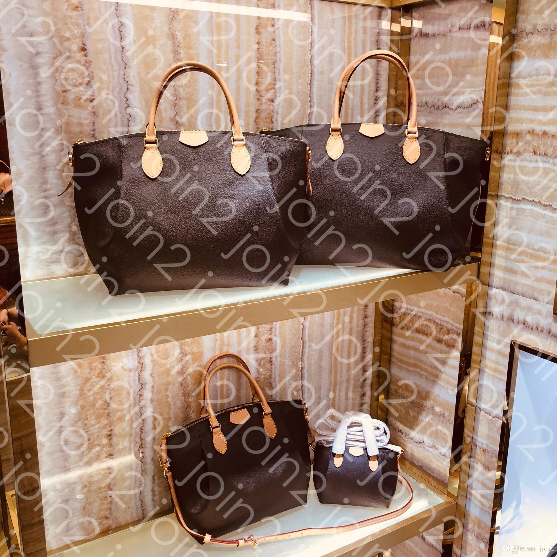 TURENNE MM PM Moda de alta calidad para mujer Mini bandolera Marrón Impermeable Lona con estilo Totalizador Mango superior Nano Cross Body Bag GM M48814