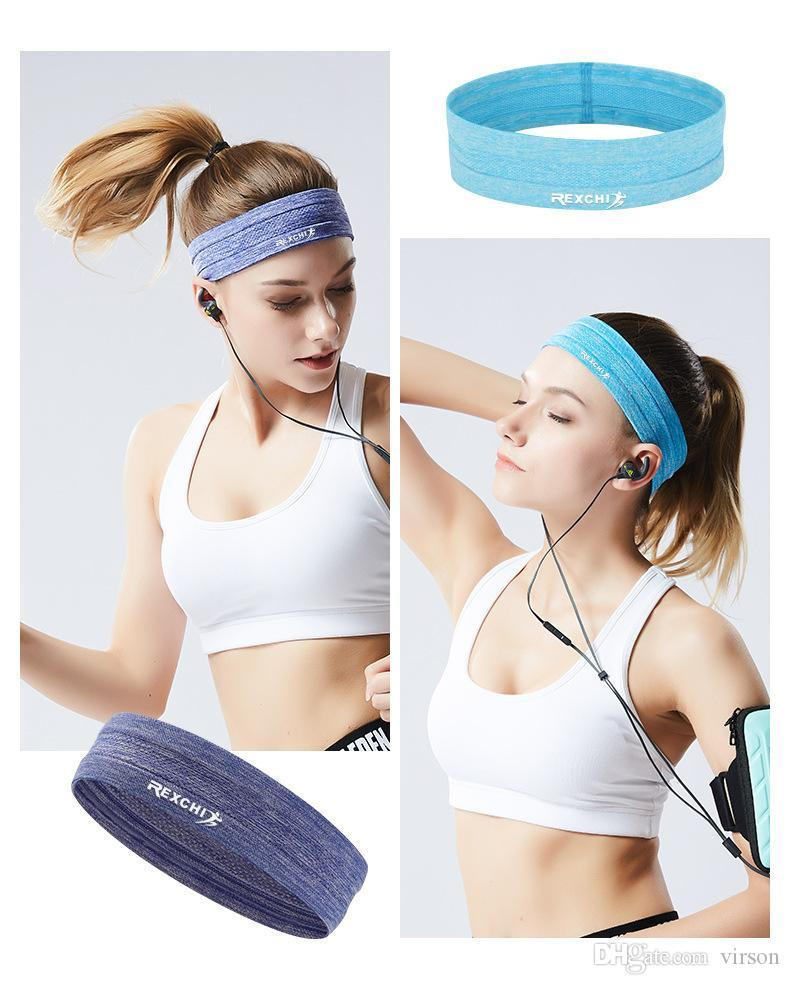 Workouts or just Looking Great! Colorful Spandex Hair Bands Great for Sports