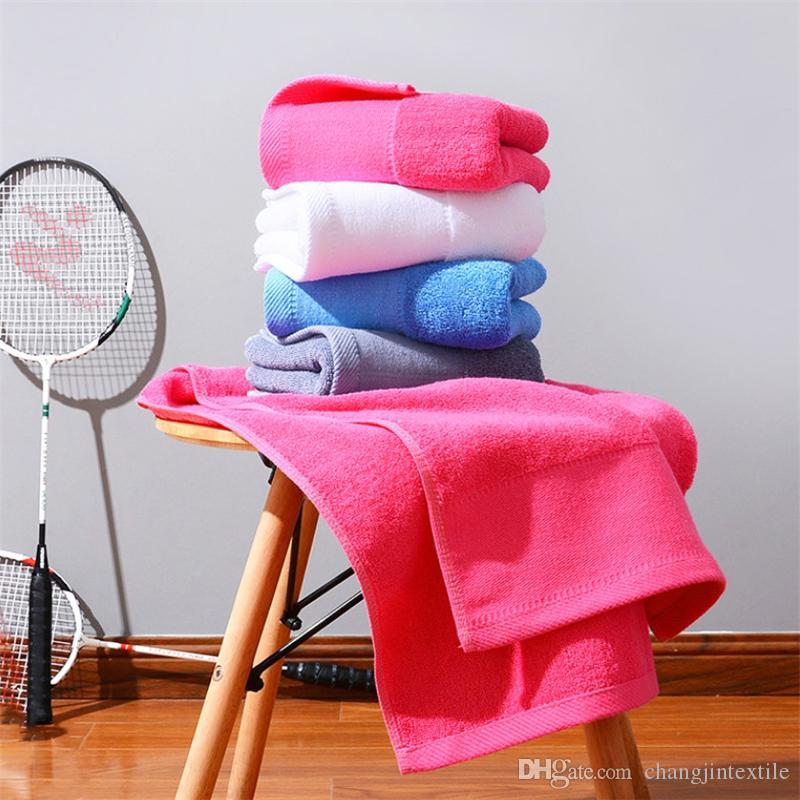 al por mayor fábrica de toalla de algodón 35 * 75cm del hogar cara diariamente las necesidades de lavado de toallas de algodón personalizada regalo de centro comercial pareja llanura