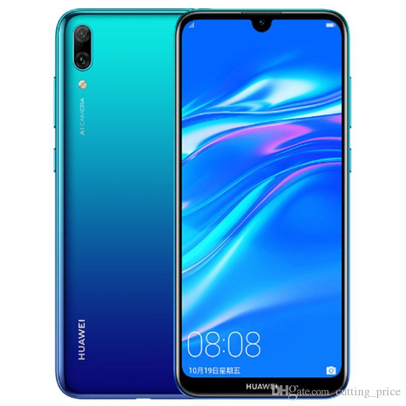 "Original Huawei Enjoy 9 4G LTE Cell Phone 4GB RAM 64GB 128GB ROM Snapdragon 450 Octa Core Android 6.26"" Full Screen 13.0MP 4000mAh Fingerprint ID Face Smart Mobile Phone"