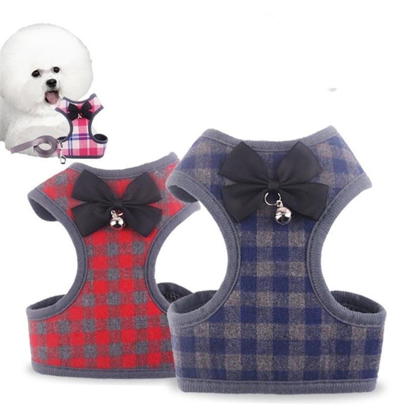 سترة يسخر الجر حبل كلب الصدر الظهر المقاود تنفس القط الاكسسوارات سحب الحبال الأزياء مع نمط مختلف 8bg j1