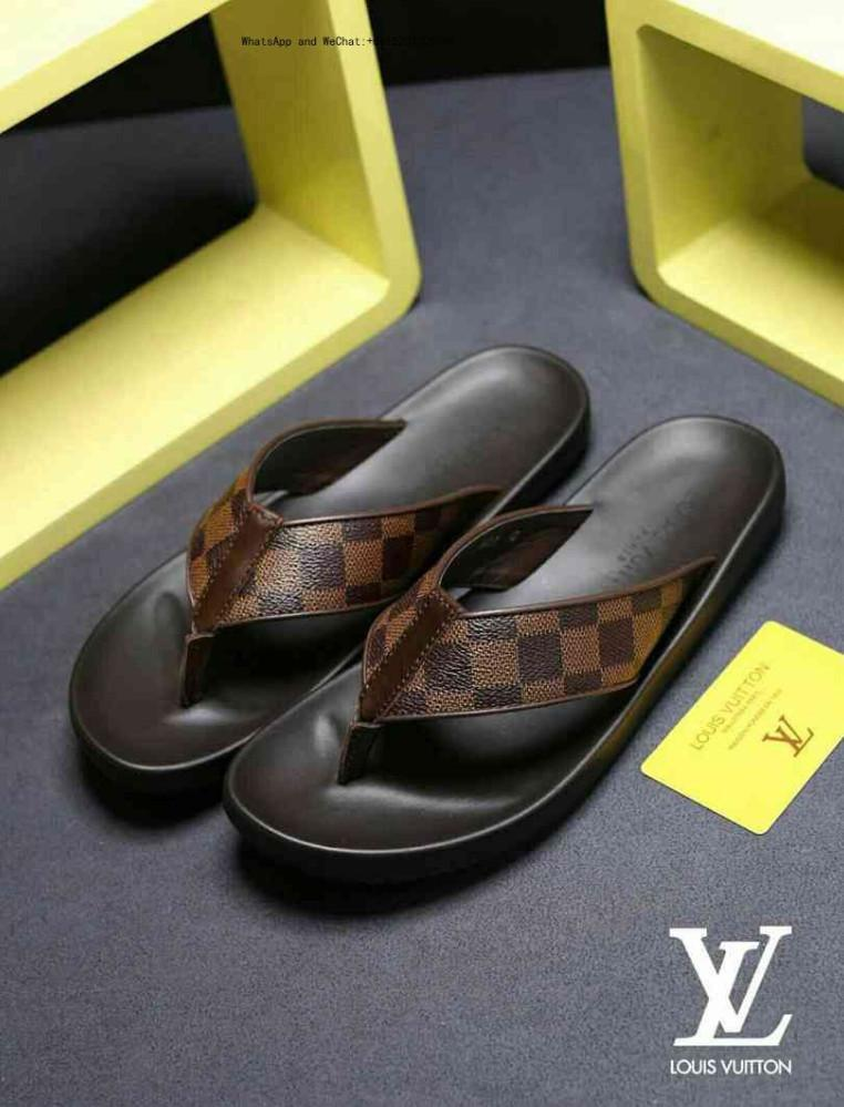 2019 New Slippers Genuine Leather