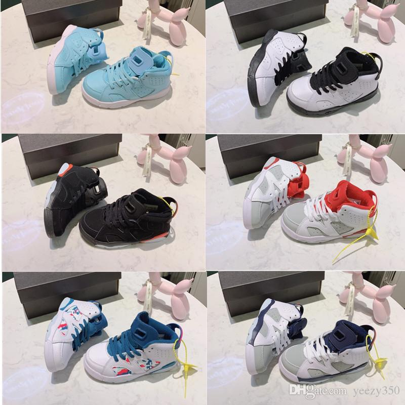 New Born Baby Toddler Sneakers 6s Td