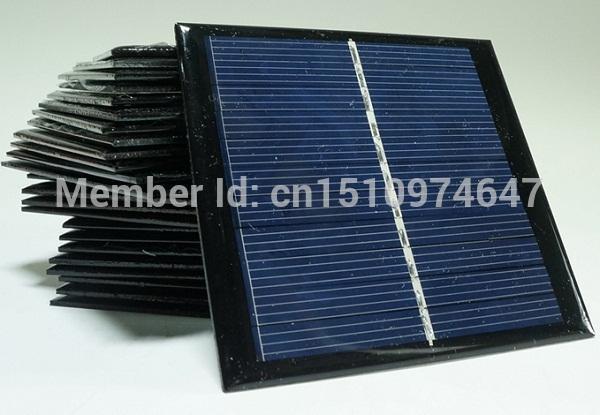 High Quality ! Mini Solar Cell 1watt 5 5 Solar Panel Solar Module  Polycrystalline Cells Wholesale Types Of Solar Panels 12v Solar Panel From  New268,