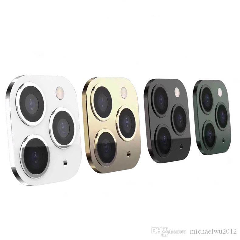 럭셔리 금속 알루미늄 Len 보호 케이스 아이폰 xsxxxxxxex lection 11 프로 렌즈 스티커 11 프로 렌즈 스티커 11promax 카메라 보호 커버
