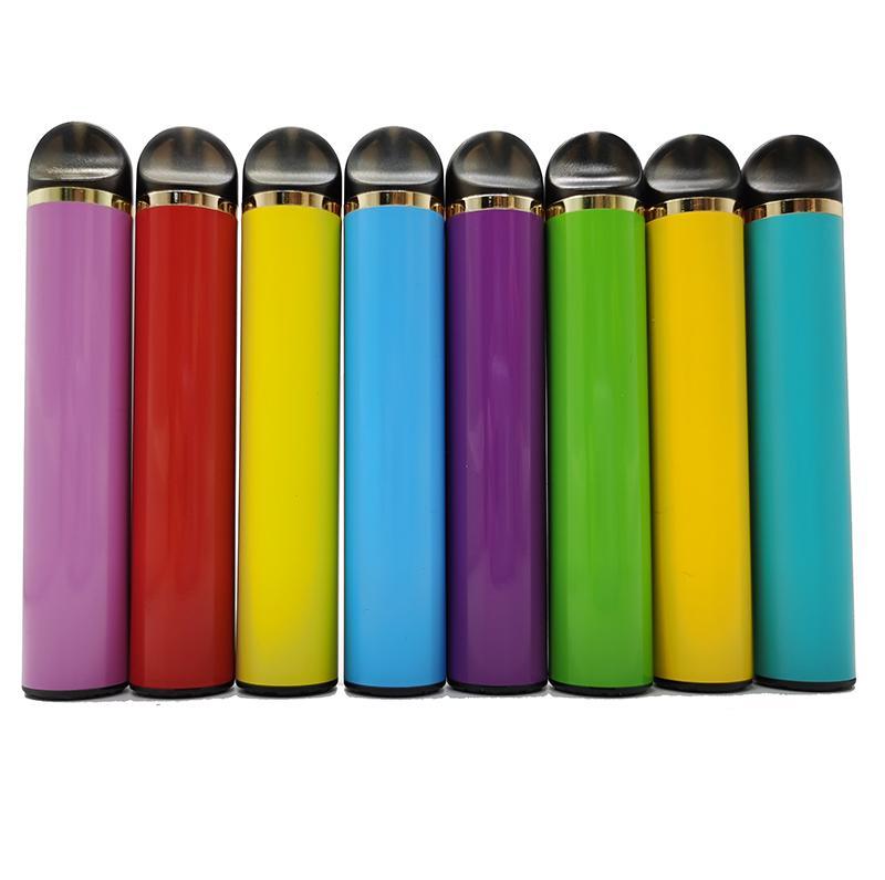 11 couleurs 5ML Cartouches 550mAh Vape batterie Cigarettes Vape bâton Ecig Vaporisateurs Stylos jetables pods Dispositif d'emballage personnalisé vidait