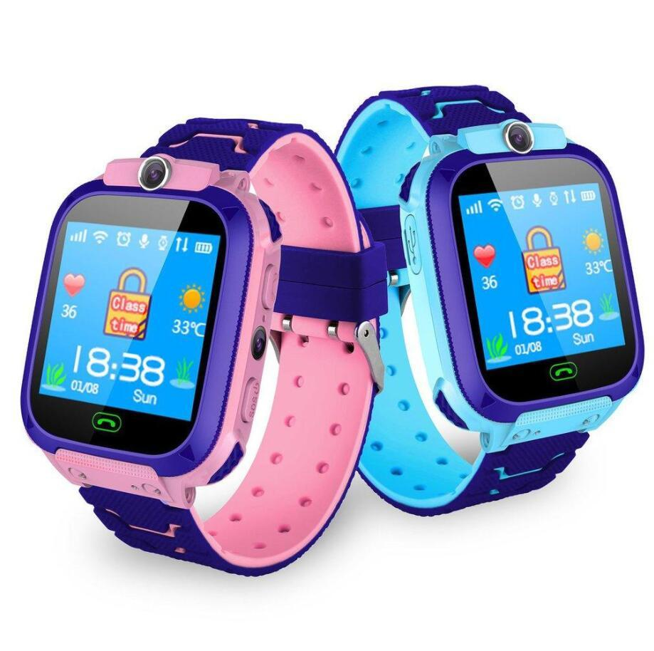 S9 LBS لتحديد المواقع للأطفال الذكية الساعات الهاتف دعوة SOS صور الساعات للطفل ساعة 1.44 بوصة الرياضة المعصم ل iOS الروبوت