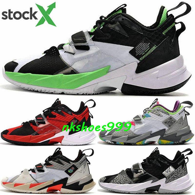 Scarpe uomo perché non ZER0.3 EUR 46 47 Sneakers verde Uomini pari a zero dimensioni noi 12 13 Jumpman 3 basket formatori Classic Nuovo arrivo 2020 Schuhe