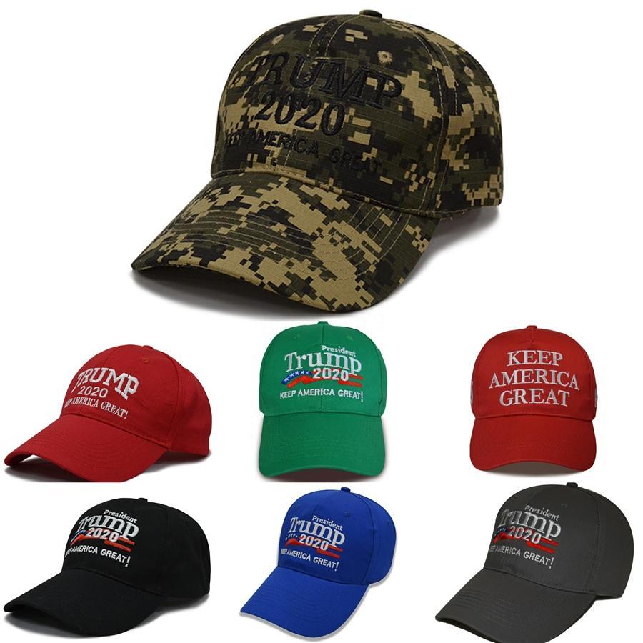 Donald Trump Redondas 3 Colores 2020 gorras de béisbol Nuestra Salud, Gran Sol De nuevo sombrero bordado bola de los deportes al aire libre del sombrero del sombrero libre de TNT Fedex # 849