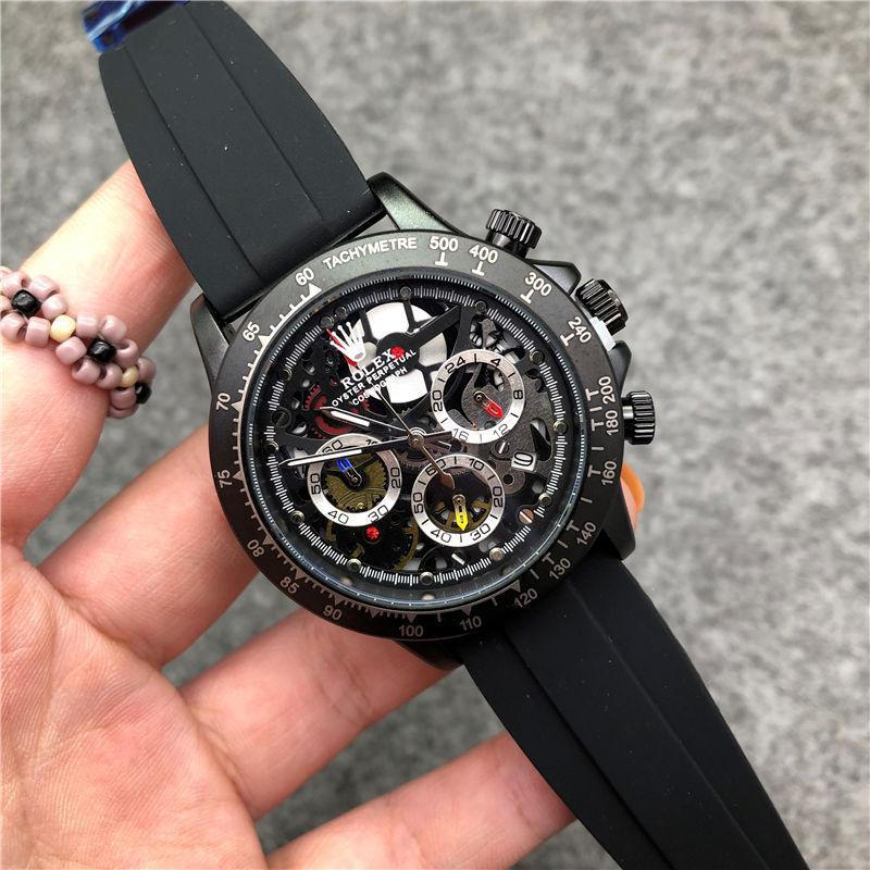 alle Zeiger arbeiten Mens Topmarke Quarz wasserdicht Stoppuhr Frauen Schweizer Marke Luxusuhr Mode Sport Armbanduhren Uhren Uhren