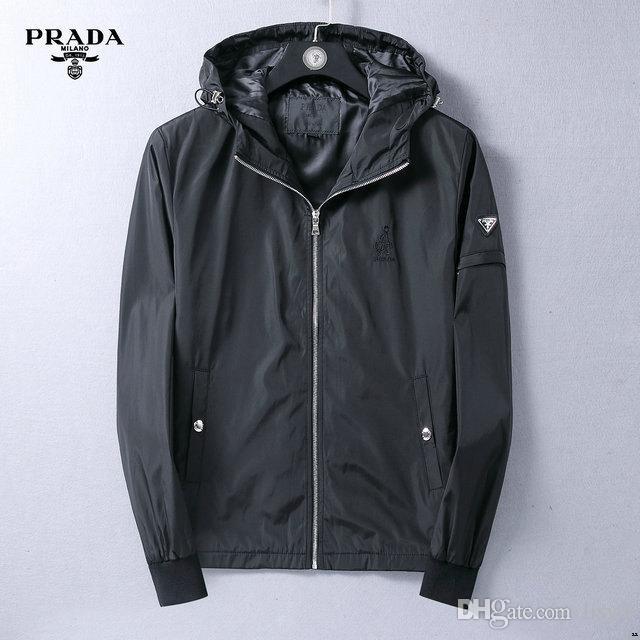 casual ao ar livre marca ocasional tendência jaqueta com zíper Moda suave jaqueta jaqueta de homens dos homens de luxo 19ss windproof tecido impermeável Medusa