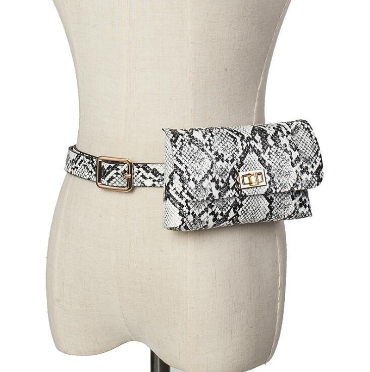 디자이너 명품 허리 가방 여성 조커 벨트 고전 문석 어깨 가방 휴대 전화 가방 미니 여성 가방 레트로