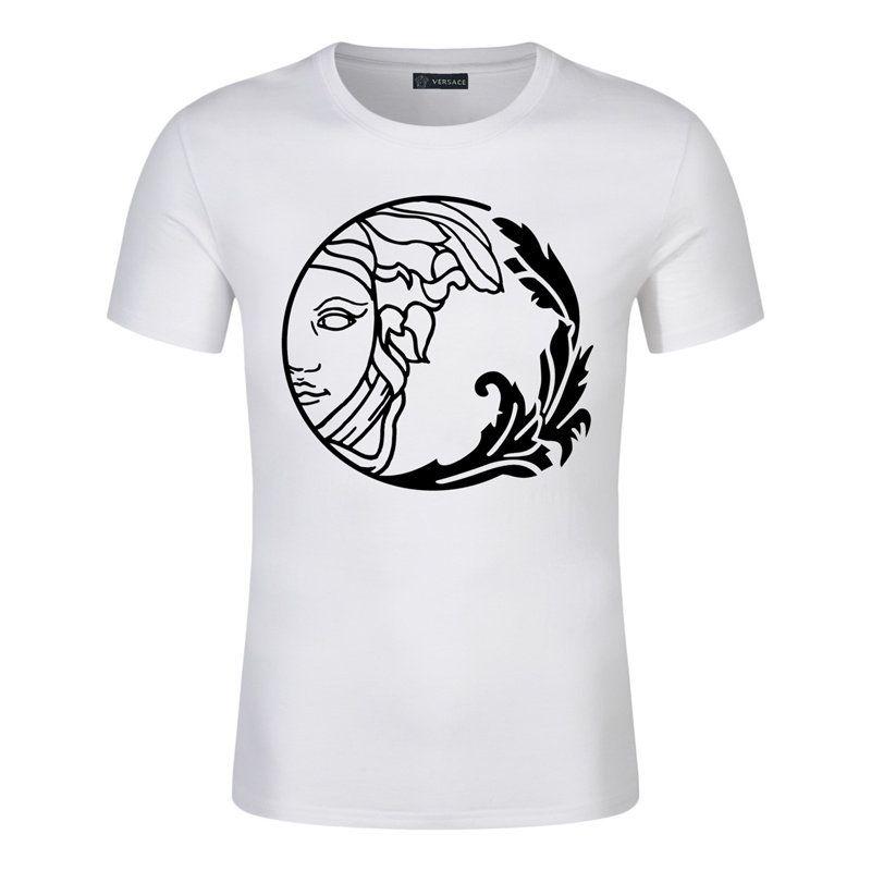 2020 off manga curta dos retalhos T-shirt 1 dos homens da forma do verão camiseta Casual branco Mens Clothes Tendência Casual Slim Fit Hip-Hop Top Tees 5XL