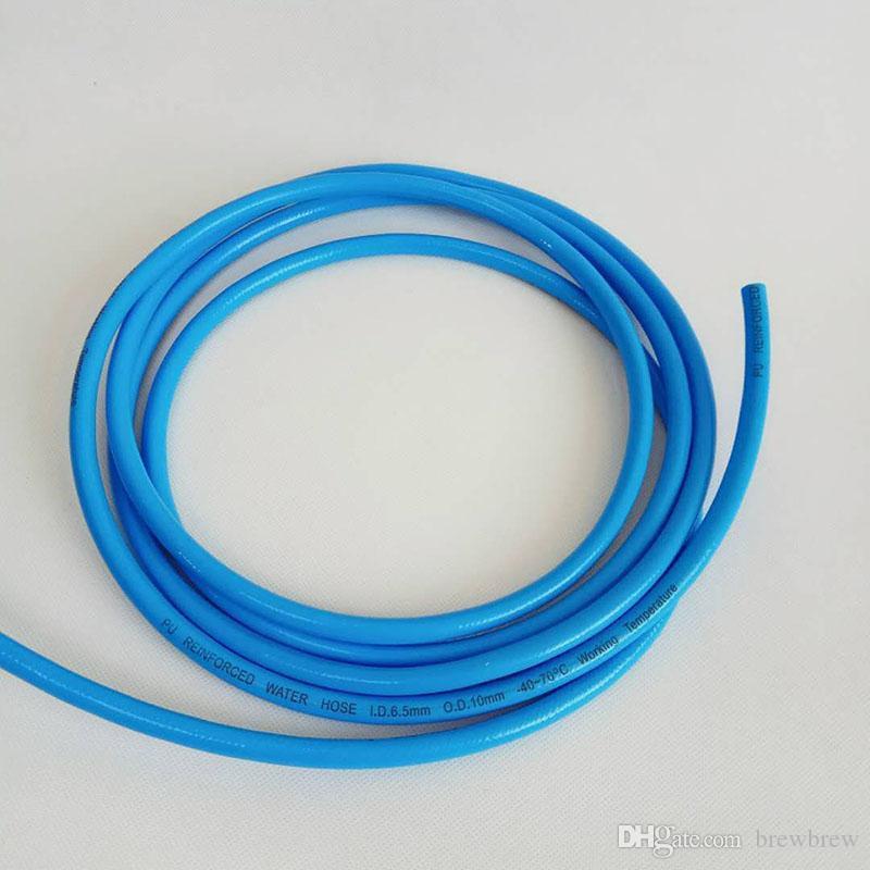 6.5*10 PU braided CO2 hose,food grade material,Co2 gas hose for homebrew or bar
