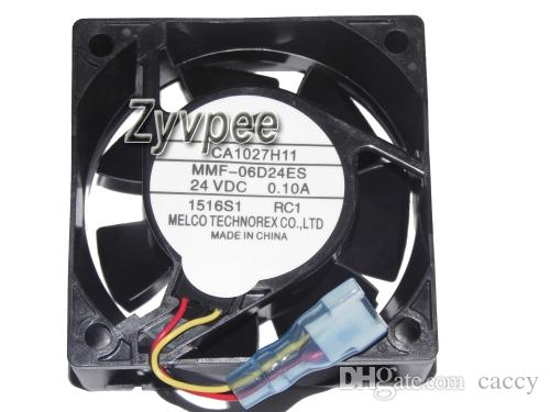 60x60x25mm MMF-06D24DS RC1 MMF-06D24ES RC1 24V 0.1A 3wire CA1027H11 Yaskawa inversor Fan