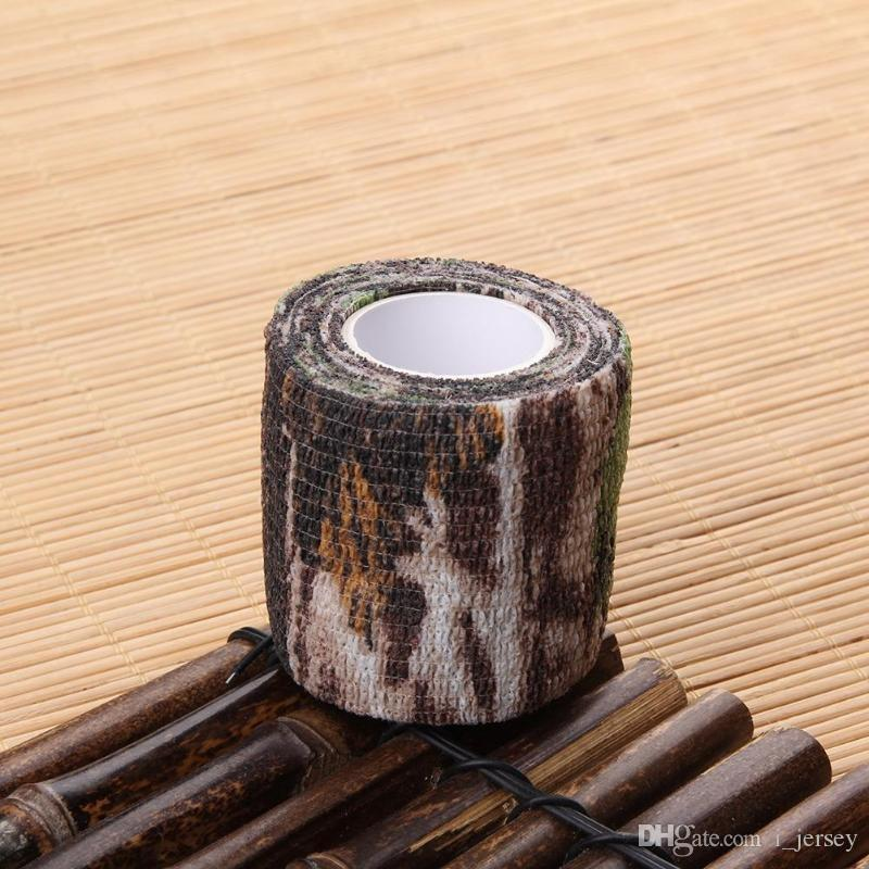Elastic Camouflage wasserdicht Outdoor-Jagd Camping Stealth Camo Wrap Tape