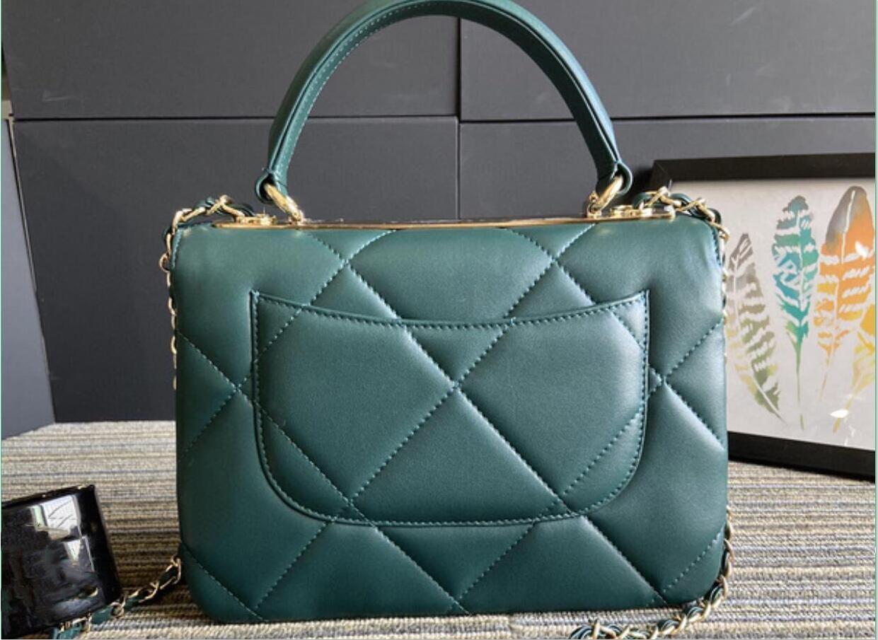 Best-seller de couro de marca, bolsa azul, bolsa de ombro, alça de ombro mochila de alto luxo designer de moda do mundo 92236