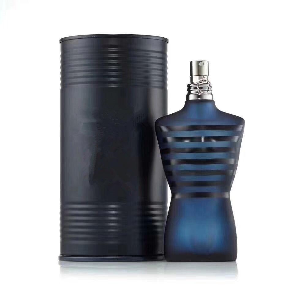 أحدث عطر رجل عاري سوبر مع رائحة رذاذ الطبيعية الذكور مع دلو المعادن السوداء 125ML تسليم سريع