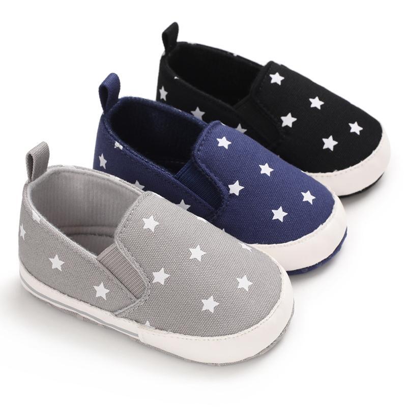 Детская обувь Первого ходунки Baby Boy Обувь Prewalker мягкой подошва Тапочки Прохождение Casual