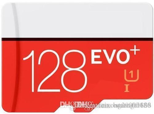 128GB 64GB 32GB 16GB EVO PLUS EVO + Micro SD TF Flash Card 90MB / s 80MB / s U1 U3 High Speed Class 10