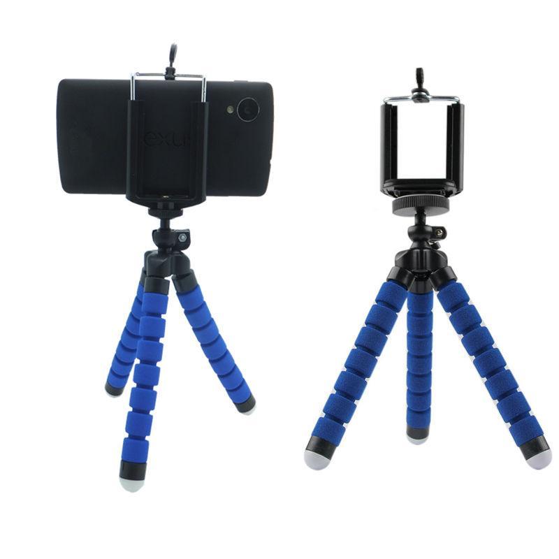 telefono portatile macchina fotografica digitale gambe polpo treppiedi flessibile per l'iphone 6 6S 6 più 5 5s 4 4s per Samsung S3 S4 S5 Nota per