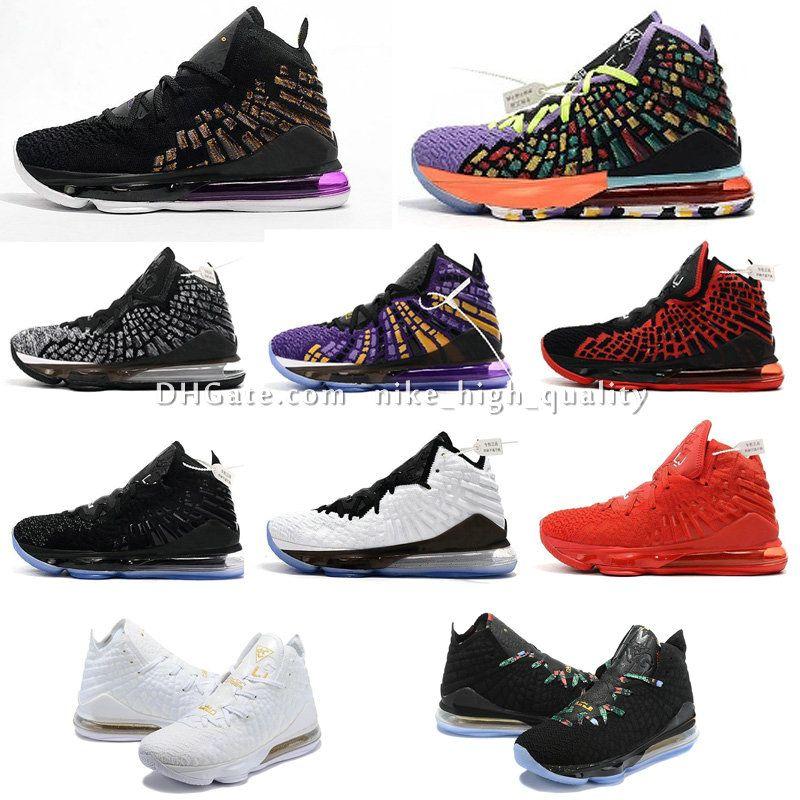 제임스 17S MVP BHM 오레오 아이 여자 남자 운동화 부츠 원래 상자 르브론 판매 복고풍을위한 저렴한 새로운 망 lebrons 17 개 XVII EP 농구 신발