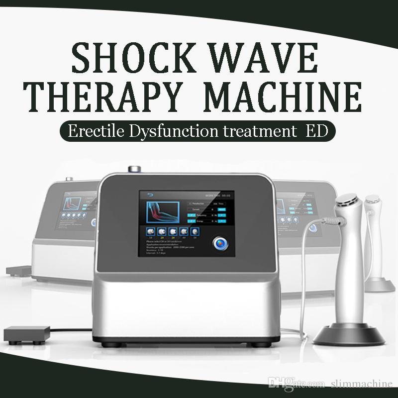 Der Hersteller Verkauf !!! Top tragbare Stoßwellentherapie Maschine / extrakorporale Stoßwellentherapiegeräte für ED-Behandlungen CE / DHL