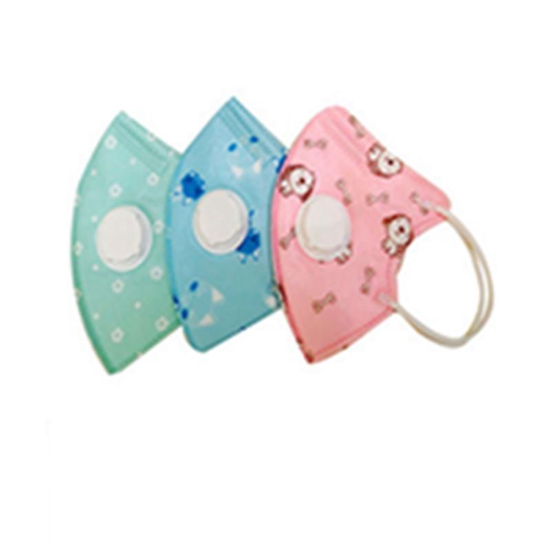 DISPONIBILE!! i bambini devono affrontare i bambini mascherina mascherine cartone animato faccia filtro a carbone attivo Valvola dello sfiatatoio del PM2.5 Anti Haze antipolvere EEA1443-8 Protect