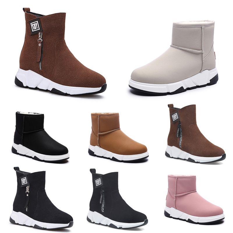 Designer Shoes non di marca Speed Trainer casual calzino del pattino marrone nero rosa beige piane delle donne di modo Runner calzini scarpe da tennis 36-40 stile # 292
