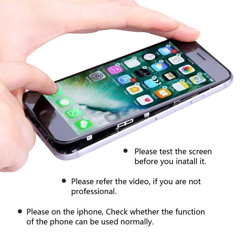 ETwiw for iPhone 6S 6SP 7 7P 8 8PLUS LCD with 3D Touch Screen Digitizer Perfect for iPhone 6 6P 5 5S SE 5C display + gift