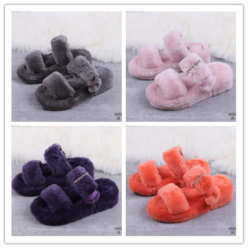 special sales buying now designer fashion 2020 Top Women Furry Slippers Australia Fluff Yeah Slide ...