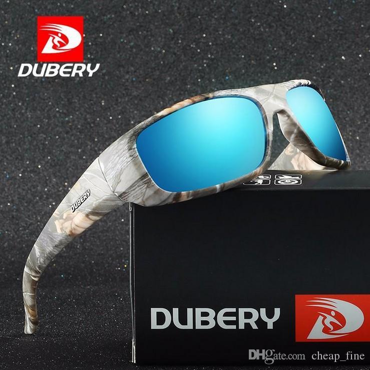 Dubery Design Männer Brillen polarisierten Sonnenbrillen Männer Retro-Mann-Glas für Männer UV400 Shades D1418