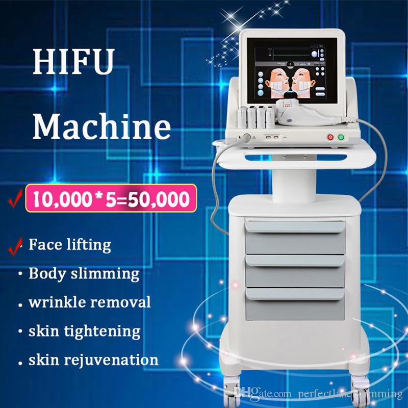 hifu Wrinkle Removal machine high intensity focused ultrasound Device hifu cartridge beuaty equipment hifu face lifting machine