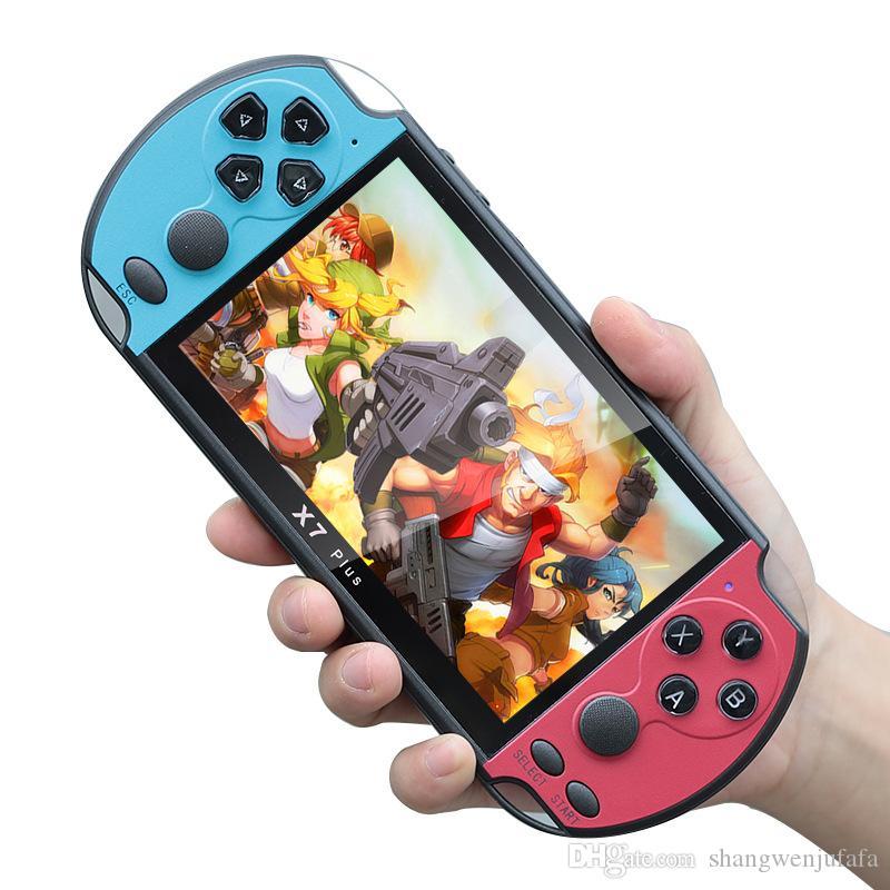RS-06 Handheld Gra Players 5.1 Cal Ekran Konsola do gier wideo i klasyczne gry Postęp Zapisz / załaduj 32 GB Najlepszy prezent