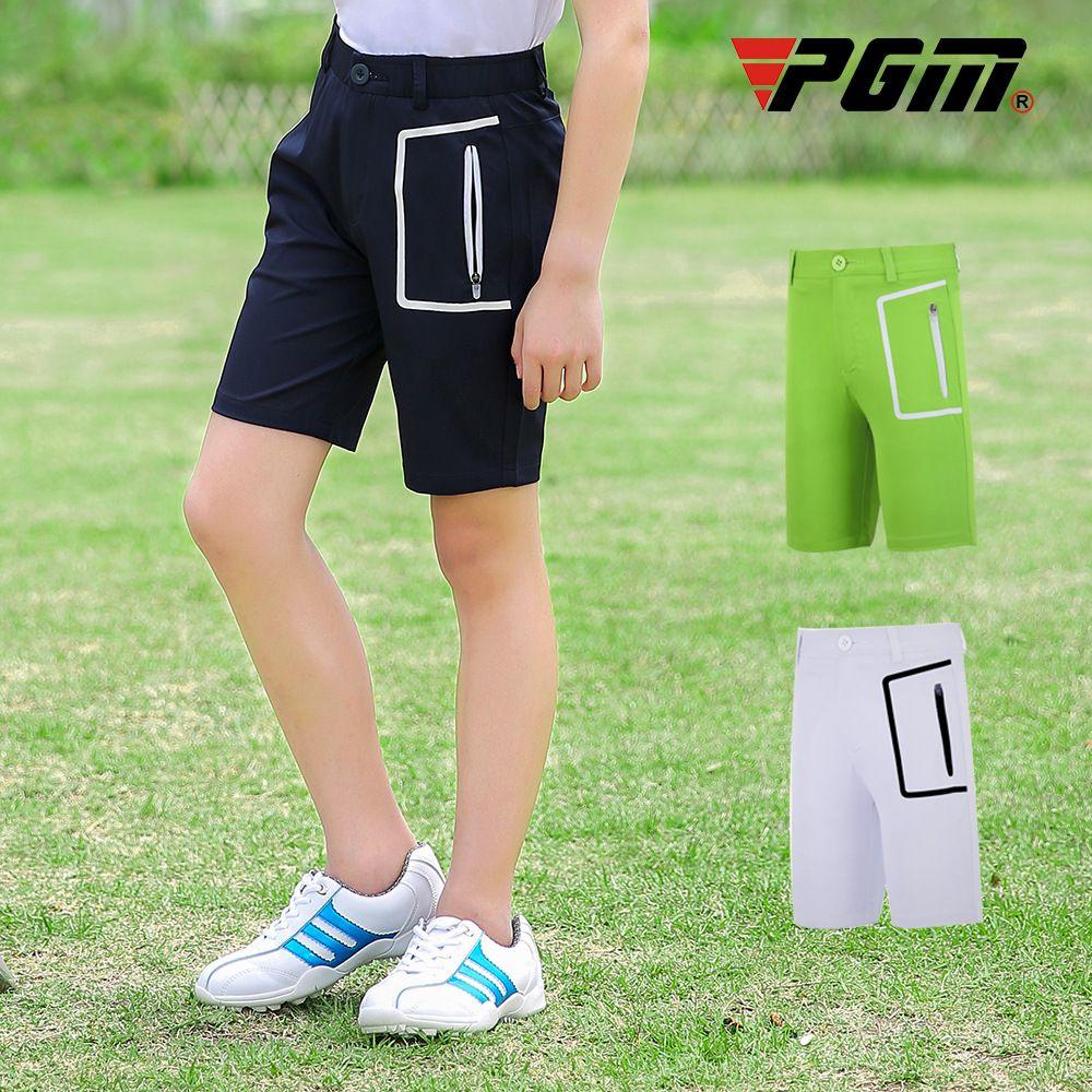 PGM été Respirant enfants Golf Shorts garçon séchage rapide Pantalon de golf Courtes sport souple mince Shorts D0796