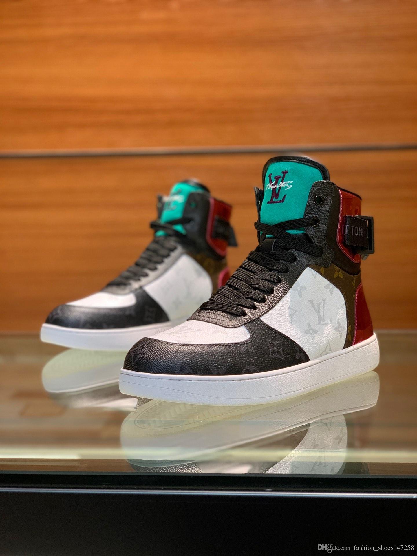 koşu ayakkabıları, yüksek kaliteli rahat spor ayakkabıları lüks spor koşu ayakkabıları Yeni 2020 DR erkekler yüksek top spor