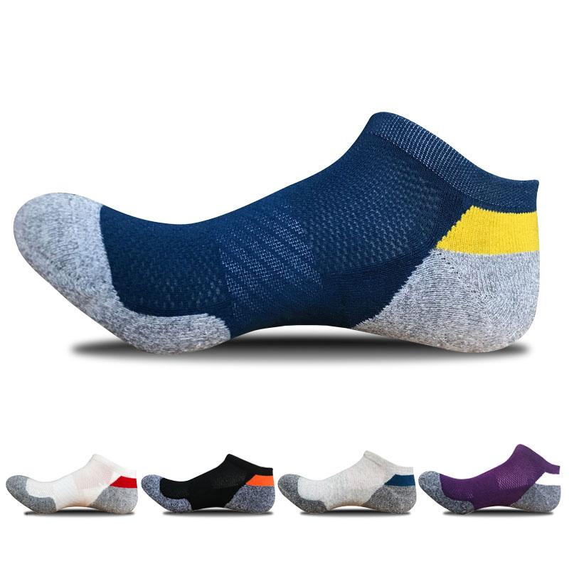 Cotone Compression Socks Sport Ciclismo Calze professionale uomo Basketball Bike Socks Low Cut Run Sports Sock nuova