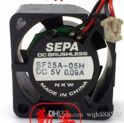 Nouveau gros original SEPA 2510 2.5 5V 0.09A SF25A-05H ventilateur de refroidissement