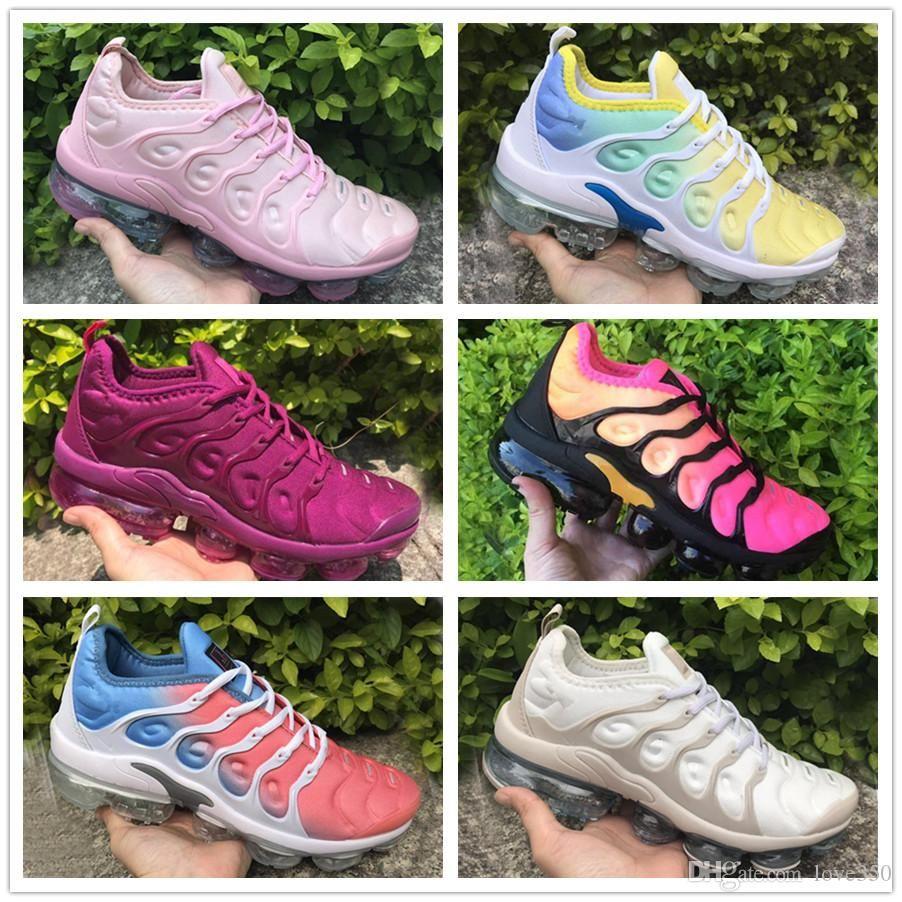 Le nuove donne di più le scarpe Tn Bianco Blu Aurora Verde, Pallido Aqua Betrue Triple Black Shark dente gioco reale in esecuzione scarpe da tennis