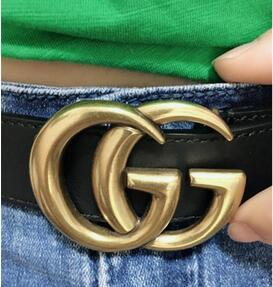 2020 hot new Famous fashion classic belt men and women high-quality luxury full of star button belt