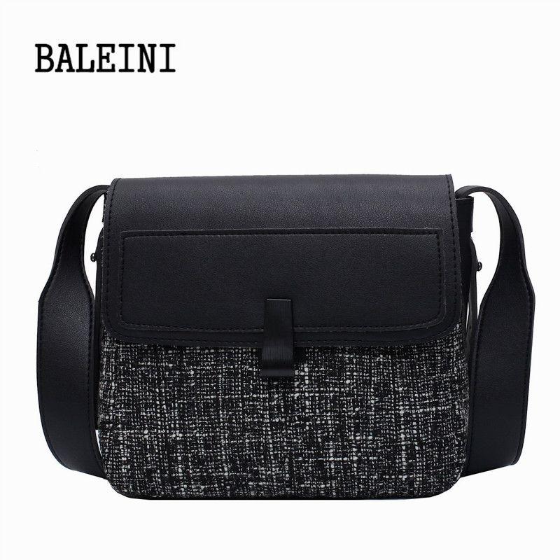 Messenger bag Cotton and Linen Crossbody Bags For Women 2020 The New Shoulder Messenger Bag Female Mini Handbags and Purses