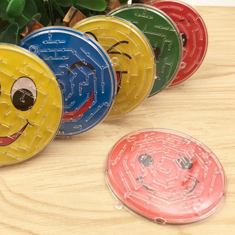 3D Maze Puzzle Brettspiele Tier Smiley Stahlkugelbahn Mazes frühe pädagogische Denkaufgabe Jisaw Kreative Puzzles Kinder Spielzeug