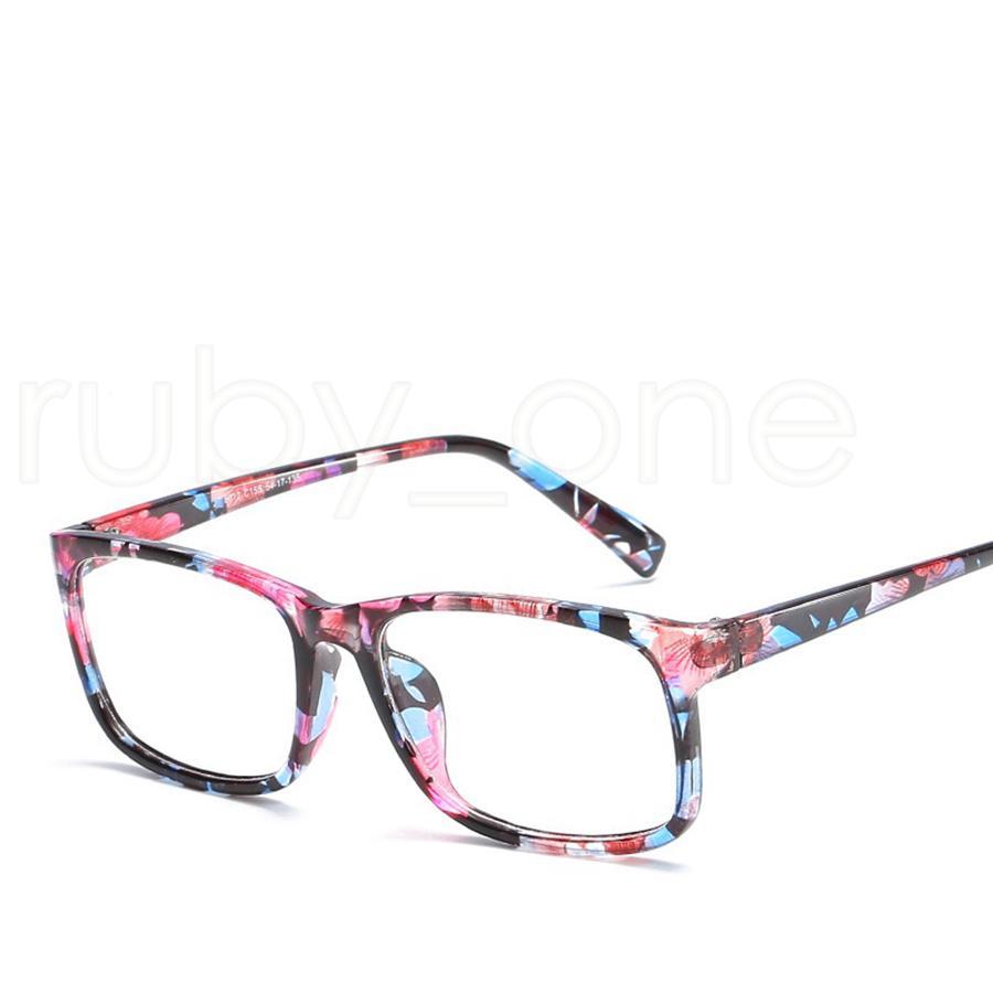 Anti-blu Protezione Occhiali Computer Eye Glasses Frames Donne Uomini Retro piatto specchio Eyewear occhiali ottici Strumenti RRA1144