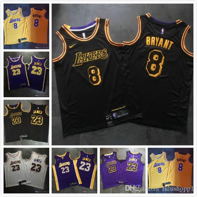 Mens Kobe Bryant Home NBA Jersey High Quality Los Angeles ...