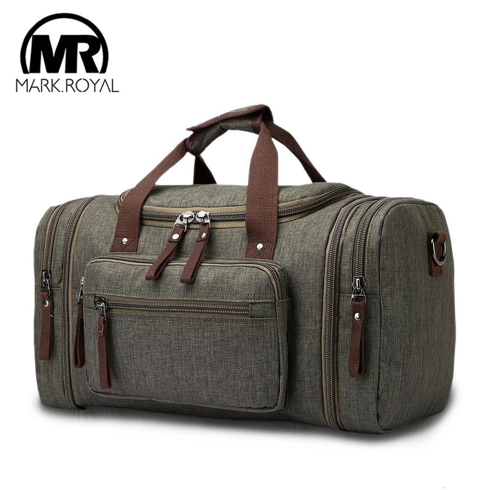 MARKROYAL Soft Waterproof Men Travel Bags Carry On Large Capacity Duffle Water-repellent Bags Hand Luggage Weekend Bag For Women CJ191116